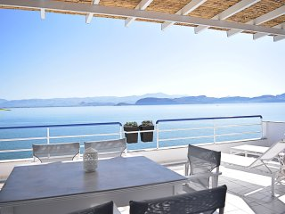 Holiday Waterfront Two Bedroom  Loft Apartment, close to Nafplion, in Kiveri - Nauplion vacation rentals