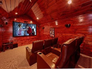Private theater room with surround sound! - Gatlinburg vacation rentals
