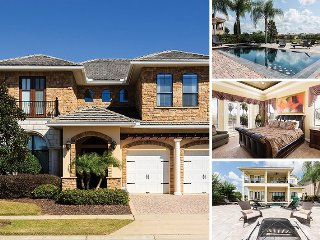 Muirfield Manor   7 Bed, 4,000 Sq. Ft Luxury Villa Overlooking Nickalus Golf Course with Game & Theme Rooms - Kissimmee vacation rentals