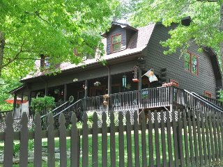 Town and Country Retreat - Upscale 4 Bedroom Rental Close to Deep Creek with Hot Tub, Dry Sauna and More - Bryson City vacation rentals
