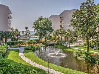 1205 Villamare - Pretty 2nd Floor Villa overlooking the pool to the ocean. - Hilton Head vacation rentals