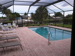 2 Bedroom Pool Home On Intersecting Canal #1 - Cape Coral vacation rentals