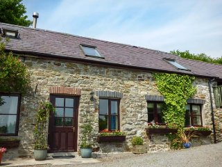 KITE COTTAGE, barn conversion, electric fire, countryside views, Llandysul, Ref - Llandysul vacation rentals