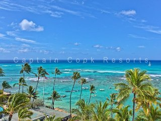 900 Sq Foot Condo - Oceanfront Building - Swimming/Surfing Beach - Waikiki vacation rentals