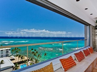 Ocean and Diamond Head views from this Gold Coast/Waikiki Vacation Rental - Waikiki vacation rentals