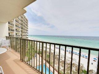 Gulf Front Pool-Beachfront Condo w/ Balcony~Kiddie Pool-BBQ & Picnic Areas! - Panama City Beach vacation rentals