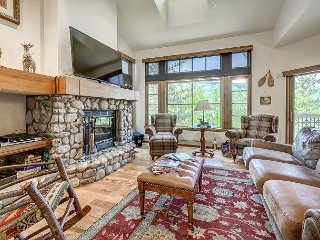 Ski to 3BR + Den and 4 Bath Premium Meadows Townhome with Spectacular Views - Edwards vacation rentals