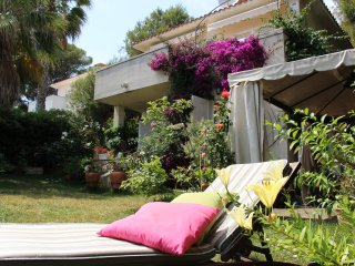 Seafront Villa - Paradise Garden - Coma Ruga vacation rentals