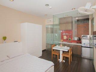 New studio apartment+kitchen in center Dist 3 HCMC - Ho Chi Minh City vacation rentals
