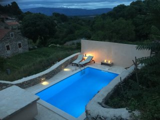 Beautiful Stone House with pool, Hvar island - Jelsa vacation rentals