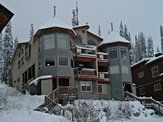 Sleeps 9 - True Ski In/Out - 2 Bedroom, 2 Bathroom, Private Hot Tub Chalet - Big White vacation rentals