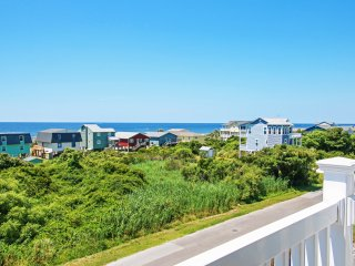 New Listing! Breezy 2BR Oak Island Condo w/Wifi, Shared Pool Access & Magnificent Ocean Views - Walking Distance to Beaches, Res - Oak Island vacation rentals