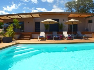 Lovely new modern villa with private pool heated near best beaches Santa Giulia! - Porto-Vecchio vacation rentals