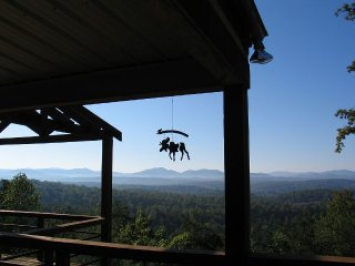 Luxury Western Style Cabin with Mountain - Morganton vacation rentals