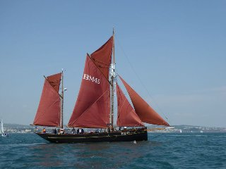 Pilgrim of Brixham - Classic Heritage Sailing Boat - Brixham vacation rentals