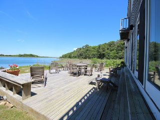 FABULOUS WATERFRONT HOME OVERLOOKING LAKE TASHMOO TO THE VINEYARD SOUND - Vineyard Haven vacation rentals