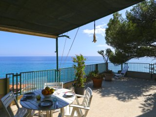 Olive beach, terrace with stunning sea view - Varigotti vacation rentals