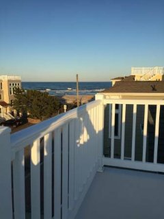 2 BR plus Den, Beautiful, Clean EIK Condo 2 Houses From Beach - Long Beach Township vacation rentals