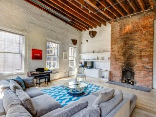 authentic penthouse loft - New York City vacation rentals