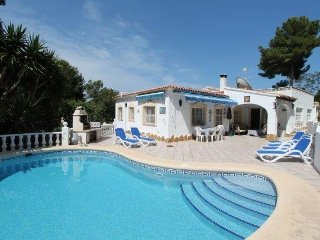 MJ000136 Modern 3 Bed Villa with Pool Heating - Moraira vacation rentals