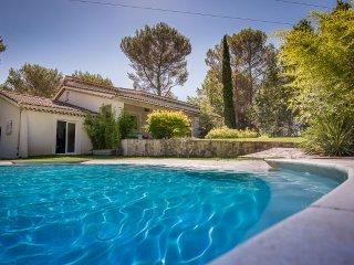 Provençal villa with pool and gardens - Ventabren vacation rentals
