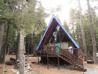 Classic A-Frame Cabin in Peaceful Westshore 2bd/1ba - Homewood vacation rentals