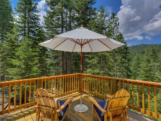 Cute and Modern Family Cabin with Spectacular Forest Views 3bd/2ba - Tahoe City vacation rentals