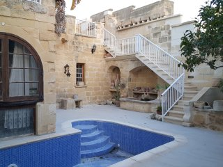 Converted Palazzo with Pool Rabat Gozo(Sleeps 20) - Fontana vacation rentals