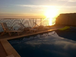 Villa direct on cliffs edge Zebbug Gozo(Sleeps 17) - Zebbug vacation rentals