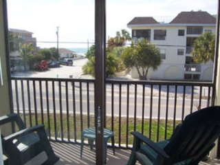 View from the lanai - HorizonWest 112 - Holmes Beach - rentals