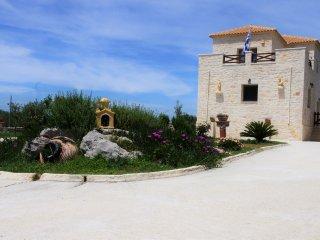 BLONDES stone private villa ,140 m. - Meso Gerakari vacation rentals