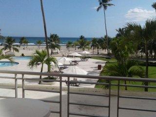 Relaxing 2 Bedroom Beachfront Condo For Rent - Juan Dolio vacation rentals
