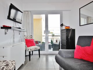 Cosy Antibes Rental with Sea View and Balcony - Antibes vacation rentals