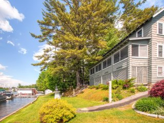 New Listing! Outstanding 6BR Laconia House w/Wifi, Screened Porch & Sensational Views - Situated Right on Beautiful Lake Winnipesaukee! - Laconia vacation rentals