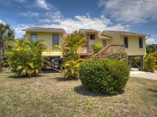 Beach Time: Secluded West Gulf Drive Pool Home Across from Beach Access #4! - Sanibel Island vacation rentals
