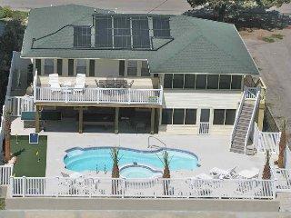 Beautiful 6-BR SALT WATER POOL/HOT TUB! OCEANVIEW! - North Myrtle Beach vacation rentals
