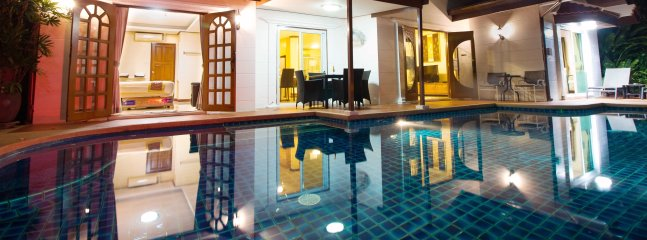 Very good location villa with private pool, walk to the beach through the beach gate entrance - Grand Condo Orchid pool villa - Pattaya - rentals