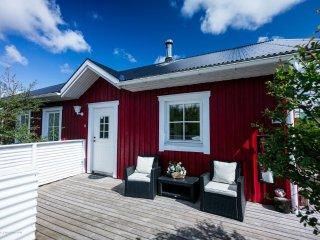 Birkilundur, luxury cabin near Borgarnes - Borgarnes vacation rentals