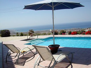 180 Degree Coast Views, own pool, no-through road - Peyia vacation rentals