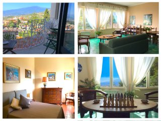 CASA MARGOT Etna & Sea view. Parking & wi-fi - Taormina vacation rentals