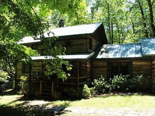 Creekside Cabin With Hot Tub, Fire Pit& Screened In Porch Lower Summer Rates - Todd vacation rentals