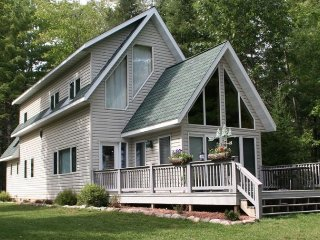 Luxury home on Eagle Lake. Sandy level beach front - Eagle River vacation rentals