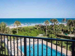 Direct Ocean Views from this Updated Condo with Pool, Near Dining & Attractions - Cocoa Beach vacation rentals