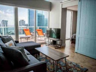 15% OFF PROMO-Luxury Waterfront Penthouse Loft in Upscale Brickell Complex Near - Miami vacation rentals