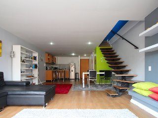 Fantastic one bed duplex penthouse mountain views - Bogota vacation rentals