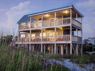 GOIN' COASTAL: Beach Front Home, Sleeps 11 - Cape San Blas vacation rentals