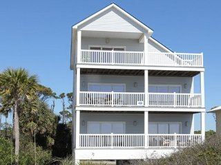 Gulf Front 5 Bedroom, 4.5 Bath Home, private pool, Sleeps 17 - Cape San Blas vacation rentals