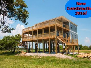 Island Drive 3627 | New Construction 2016! Amazing views of ocean and sound - North Topsail Beach vacation rentals