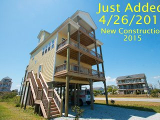 3rd Avenue 8602 | Easy Beach Access  | New Construction 2015! Elevator - North Topsail Beach vacation rentals