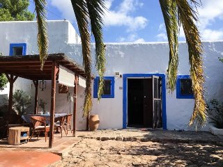Authentic finca with swimming pool and sea view - Sant Carles de Peralta vacation rentals